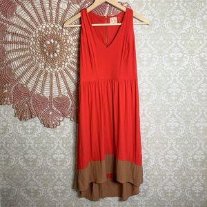 Anthropologie    La Vi High Low Dress